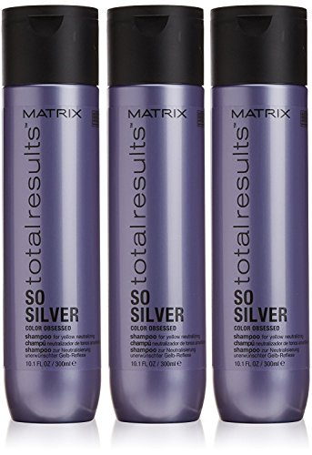 Matrix Total Results Color Obsessed So Silver Shampoo, 3 stuks per pak, 300 ml