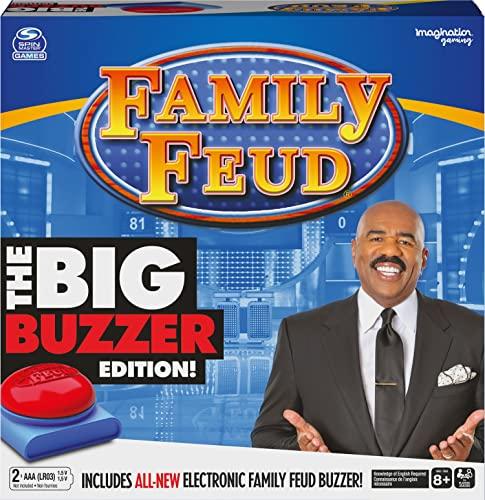 "Family Feud Big Buzzer Game, Amazon Exclusive ""Buzz in""..."