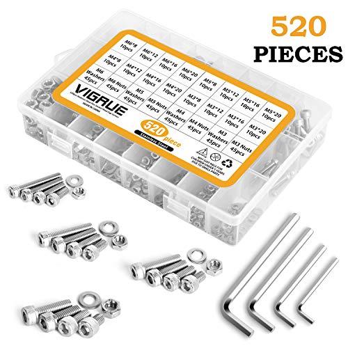Set de 20 Pi/èces Bulk Hardware BH03664 Vis pour prise /électrique plaqu/ée au zinc