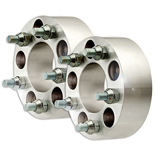 "DPAccessories WA1414E51074/2 2 Billet Wheel Spacer Adapters - 5x114.3/5x4.5-2"" Width - M12x1.5-74mm Wheel Spacer Kit"