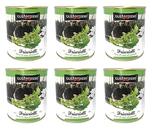 Friarielli al Naturale- Gustarosso 6 barattoli