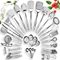 Home Hero Stainless Steel Kitchen Utensil Set - 29 Cooking Utensils - Nonstick Kitchen Utensils Cookware Set with Spatula - Best Kitchen Gadgets Kitchen Tool Set Gift from Home Hero