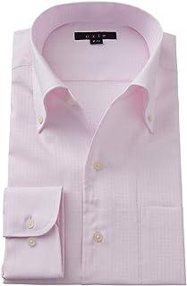 [オジエ] ozie【メンズ?ワイシャツ?カッターシャツ】スリム?イタリアンカラー ボタンダウン?クールマックス E03D