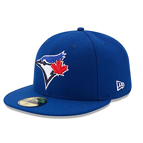 New Era 59FIFTY Toronto Blue Jays MLB 2017 Authentic Collection On Field Game Fitted Cap Size 7 3/8 Authentic Fitted Hat Game