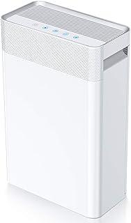 Purificador de Aire 5 en 1,con pre-filtro,Filtro HEPA y Carbón Activado,Generador de Iones,Catalizador Frío y Temporizador...