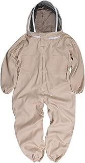 蜂防護服 フェイスガード付 つなぎタイプ XLサイズ