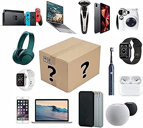 ZJDU Digital Electronic Lucky Mystery Boxes existe la posibilidad de abrir: teléfono móvil, cámaras, drones, gamepads y auriculares.