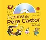 3 contes du Père Castor à écouter dès 3 ans - Roule Galette ; Poule Rousse ; La plus mignonne des petites souris (1CD audio)