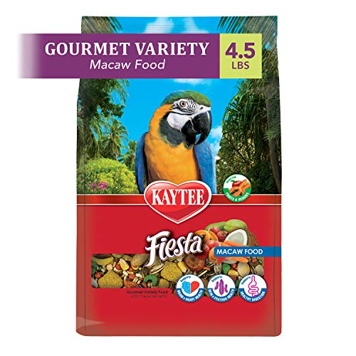 Kaytee Fiesta Macaws Bird Food 4.5 lb