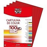 Fixo Paper 11110456 – Paquete de cartulinas A4 – 100 uni