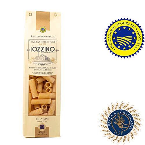 Pastificio F.lli Iozzino Rigatoni 3Kg (6x500gr) pasta di Gragnano IGP