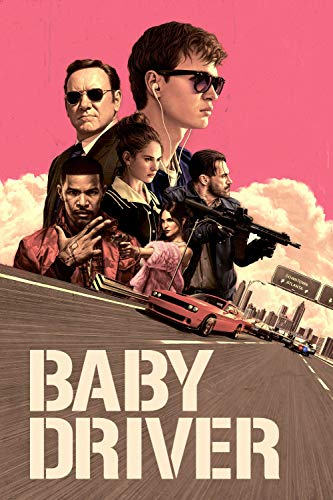 POSTER BABY DRIVER 100X70CM