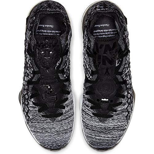 Nike Lebron XVII - Size 10.5 US BQ3177 002 Black/Black-White