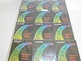 Schnooridoo 12 espirales grandes para escaleras con diseño de arcoíris