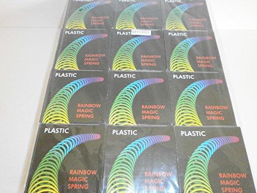 Schnooridoo 12 x große Regenbogenspirale Treppenläufer Spirale Kindergeburtstag Give Away