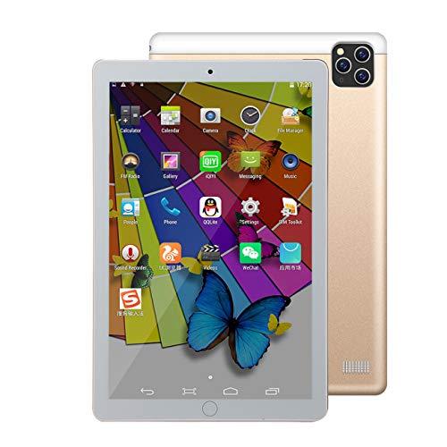 SHENXINCI Tablet Android 10.0 de 10.1 Pulgadas, 32 GB de Almacenamiento, Cámara Dual De 8MP+13MP, Pantalla de Visualización IPS HD de 1280x800, Wi-Fi Bluetooth 4000mAh,GPS FM Micro HDMI - 5 Colores