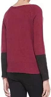 Pompeii Jewel Neck Super Soft Yak Merino Knit Top Size XL MSRP $298