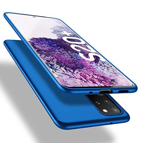 X-level Samsung Galaxy S20 Plus Hülle, [Guardian Serie] Soft Flex TPU Hülle Superdünn Handyhülle Silikon Bumper Cover Schutz Tasche Schale Schutzhülle für Samsung Galaxy S20 Plus 5G - Blau
