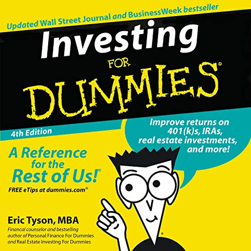 Couverture de Investing for Dummies, Fourth Edition