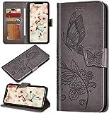 Robinsoni Custodia Compatibile con Huawei P30 Pro Case Portafoglio Cover Libro Case Farfal...