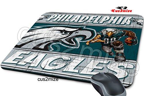 Philadelphia Eagles Mouse Pad Philadelphia Eagles Mousepad, Sold By Cus2mize 0723736679677