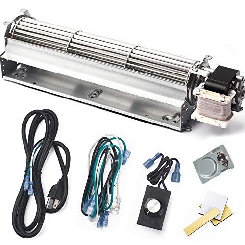 Criditpid BKT GA3650T GA3650TB GA3700T GA3700TA Fireplace Blower Fan Kit for Desa Tech, FMI, Vanguard, Vexar, Comfort Flame, Astria, Comfort Glow Fireplaces Fan.