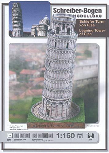 Aue Verlag 20x 20x 37cm Schiefen Turm von Pisa Model Kit