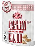 pakka ® Cashewkerne Bio und Fairtrade, geröstet und gesalzen mit Meersalz, ganze Cashew-Nüsse aus Bio-Anbau, wiederverschließbar (4