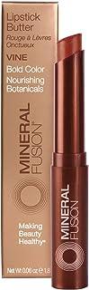 Mineral Fusion Lipstick Butter, Vine,0.06 Ounce