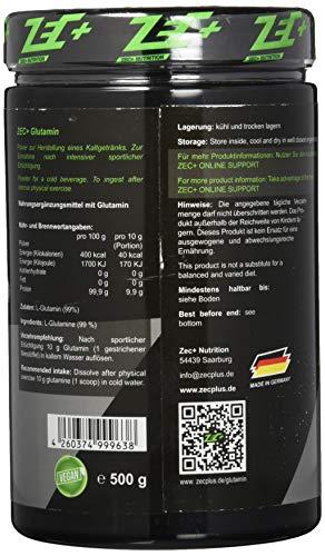 Zec+ Nutrition Glutamin Pulver , 1 x 500 g - 2