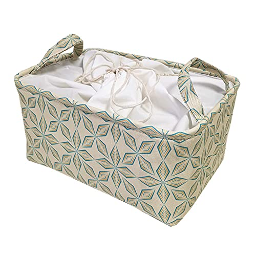 Zuoye Caja de almacenamiento de tela de marco de acero para ropa sábanas manta almohada titular de zapatos organizador contenedor