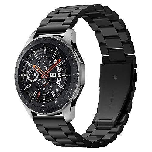 Spigen Modern Fit Entwickelt für Samsung Galaxy Watch 46 mm Band (2018) / Entwickelt für Samsung Gear S3 / Huawei GT 22 mm Band - Schwarz