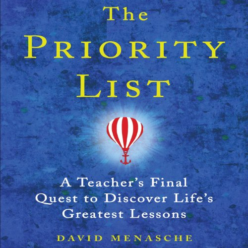 The Priority List audiobook cover art