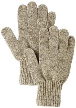 Fox River Men s Mid Weight Ragg Glove Brown Tweed Medium