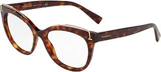 Tiffany & Co. TF2166 - 8002 Eyeglass Frame HAVANA w/ Clear Demo 53mm