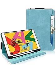 iPad Air3 ケース 2019/iPad Pro 10.5 ケース,Toplive 布模様レザー 手帳型 カード収納 マグネット開閉式 スタンド機能 全面保護型 スマートケース 2019年発売10.5インチiPad Air/2017年iPad Pro 10.5インチ兼用