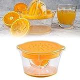smileyshy Manuelle Saftpresse, Manuelle Zitruspresse für Orangenpresse Rotierende Zitronenpresse