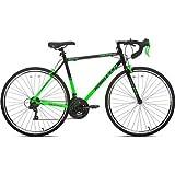 700c Men's Kent RoadTech Road Bike, Green/Black