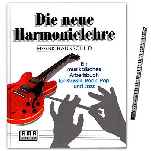 Die Neue Harmonielehre 1 - Ein musikalisches Arbeitsbuch für Klassik, Rock, Pop und Jazz von Frank Haunschild - Lehrbuch mit Musik-Bleistift - 610101-9783927190009