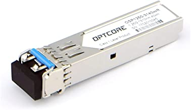 OPTCORE for HP J4860C J4860B J4860A, 1000BASE-ZX SFP Transceiver Module, 1.25Gb/s, SMF, 1550nm, 70~80km, LC, DOM