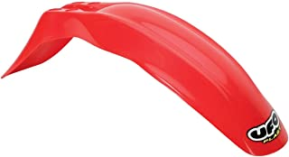 UFO KA03758-070 Replacement Plastic (FOR KAWASAKI FRONT FENDER KAWITH/SUZ 110 RED)