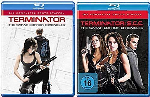 Terminator - The Sarah Connor Chronicles Staffel 1+2 [Blu-ray Set]