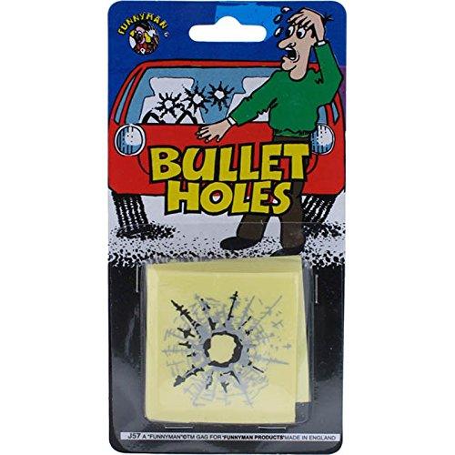 3 impacts de balles - Farce et attrape - Bullet Holes - Trous de balles