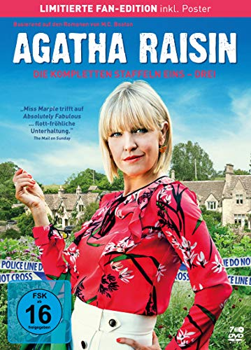 Agatha Raisin - Die kompletten Staffeln 1-3 (Limited Fan Edition, 7 Discs)