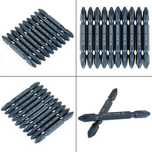Juego de brocas de acero aleado S2 Juego de brocas para destornillador Juego de brocas de 65 mm para destornillador eléctrico