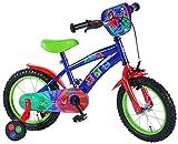 L&E PJ Masks Kinderfahrrad 14 Zoll Fahrrad mit Stützräder Jungen