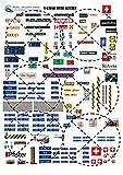 para KATO N gauge Glacier Express letreros y carteles suizos A4 Model Railway