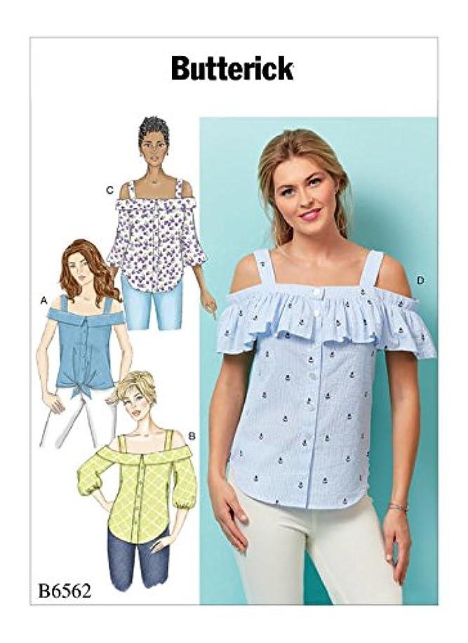 BUTTERICK B6562 / BP323 Misses Tops Sz 14-22 Sewing Pattern