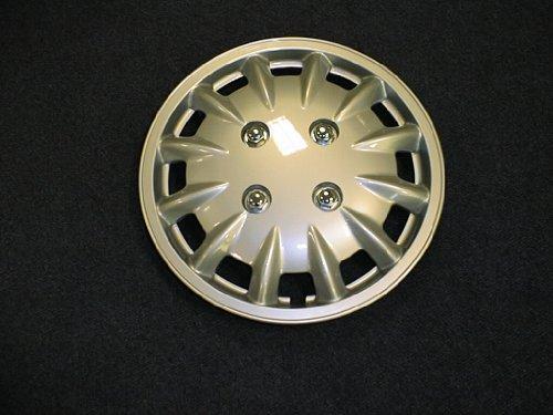 Milenco Silver 33 cm Wheel Trims (Pair)