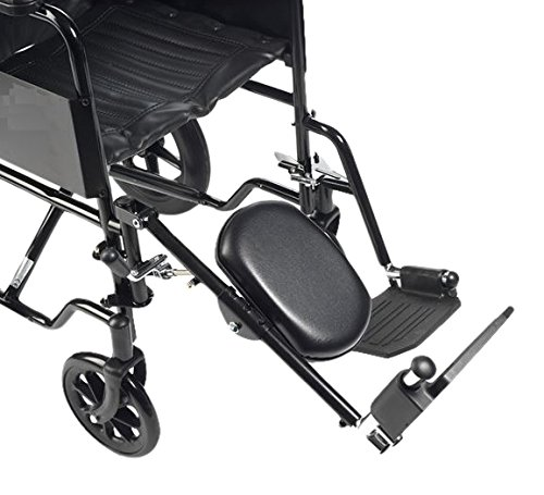 Drive Medical ELR001R Beinstütze für rechtes Bein Stahl